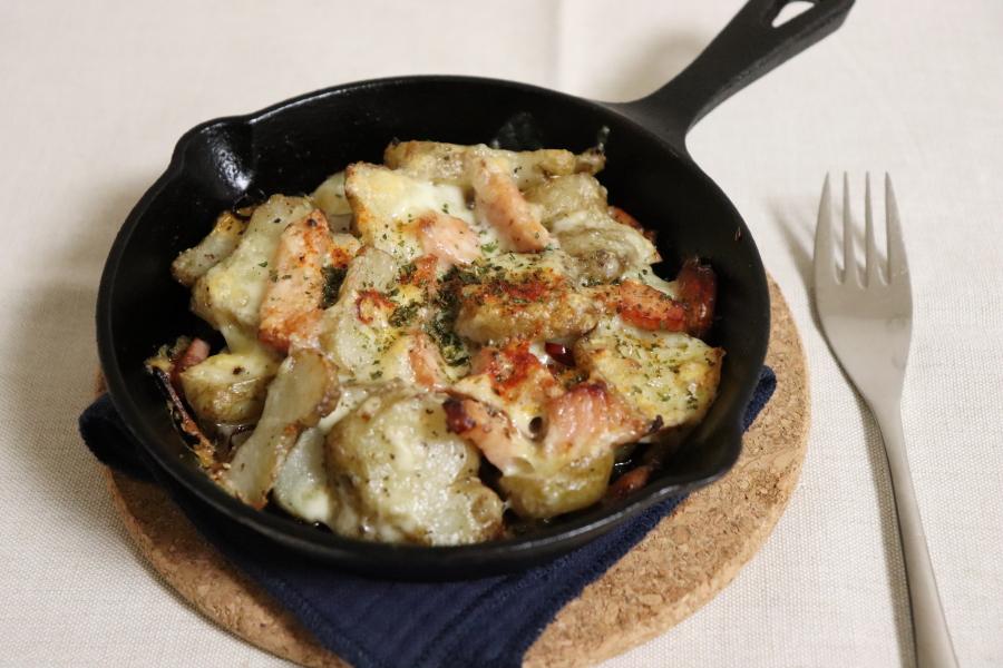 ジャーマン菊芋のチーズ焼き